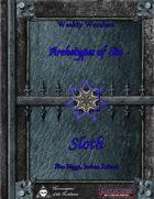 Weekly Wonders - Archetypes of Sin Volume VI - Sloth