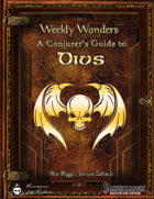 Weekly Wonders: A Conjurer's Guide to Divs