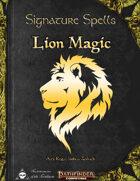 Signature Spells - Lion Magic