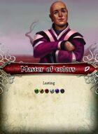 Master Of Colors - Custom Card