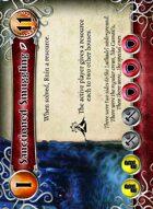 Sanctioned Smuggling - Custom Card