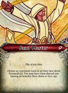 Sand Master - Custom Card
