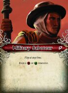 Military Saboteur  - Custom Card