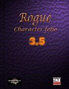 Rogue Character Portfolio 3.5