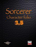 Sorcerer Character Portfolio 3.5