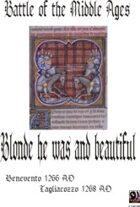 Blond he was and beautiful: Benevento and Tagliacozzo