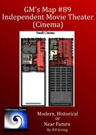 GM's Maps #89: Independent Movie Theater or Cinema
