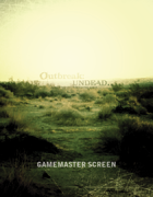 Outbreak: Undead.. 2nd Edition Gamemaster Screen Inserts