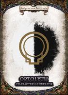 Optolith Character Generator