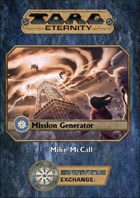 Torg Eternity Mission Generator