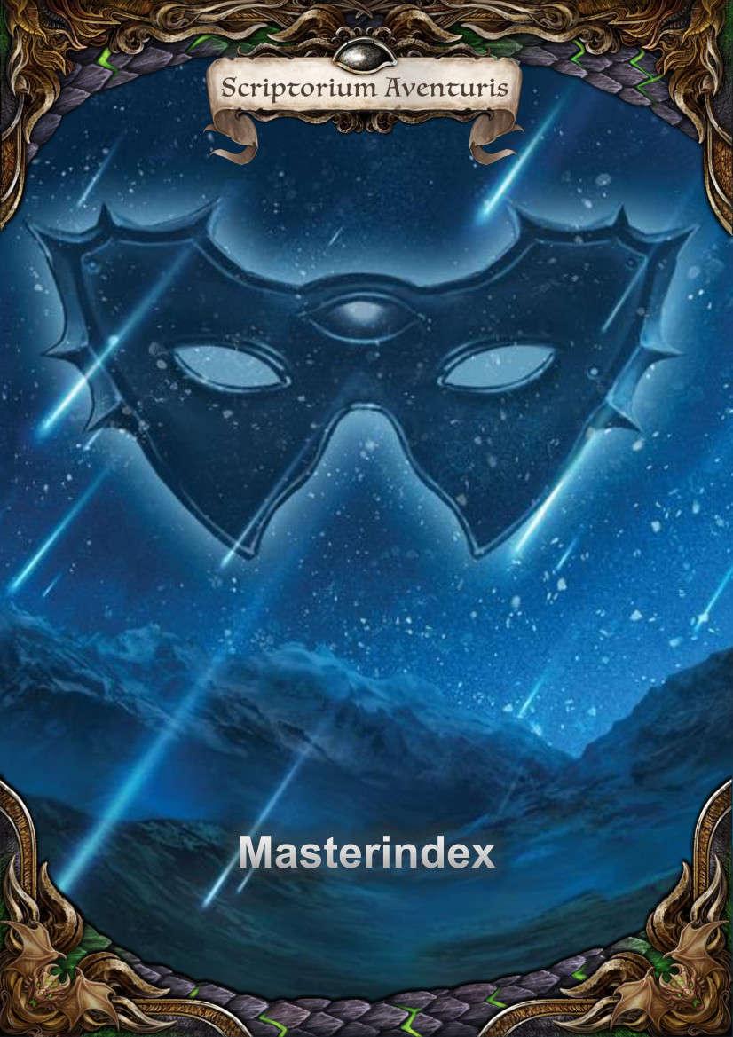 Das schwarze Auge 5: Der Masterindex