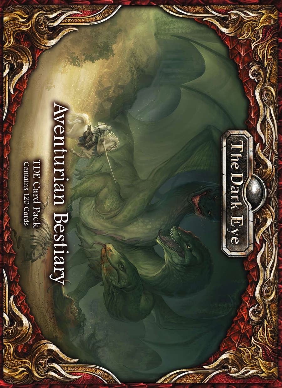 The Dark Eye - Aventuria Bestiary Cards