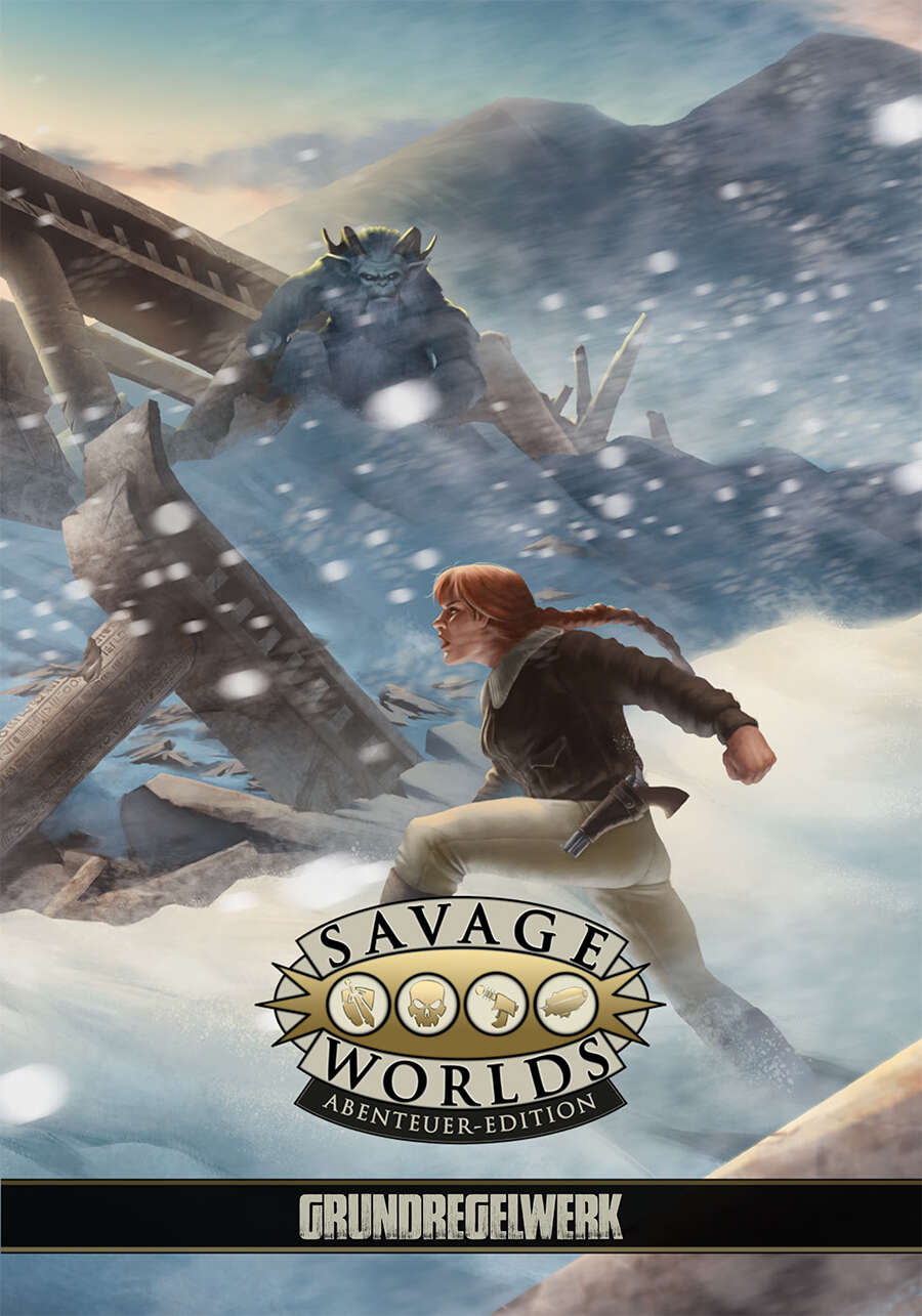 Savage Worlds Abenteuer-Edition - Grundregelwerk (PDF) als Download kaufen