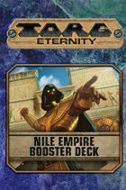 Torg Eternity - Nile Empire Booster Deck