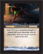 Torg Eternity - Destiny Card - Adrenaline 1