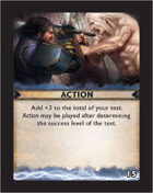 Torg Eternity - Destiny Card - Action 15