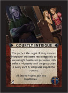 Torg Eternity - Aysle Cosm Card - Courtly Intrigue