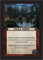 Torg Eternity - Aysle Cosm Card - Mana Surge