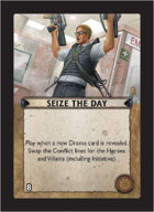 Torg Eternity - Core Earth Cosm Card - Seize the Day