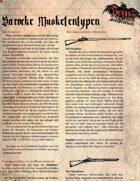 Barocke Musketen