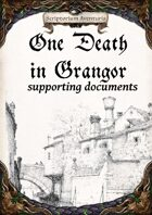 One Death in Grangor - supplements