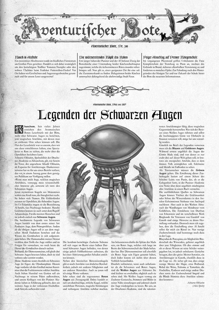 Aventurischer Bote #200 (PDF) herunterladen