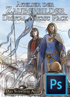 DSA - Atelier der Zauberbilder - Digital Art Pack (PSD) als Download kaufen