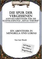 """Die Spur der Vergessenen - Auftaktabenteuer zur Kleinkampagne """"Minas Theorie"""""""