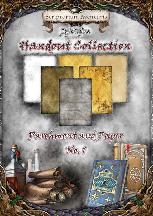 Jyiv's freie Handout Collection - Pergament und Papier No. 1
