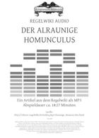 Regelwiki Audio | DER ALRAUNIGE HOMUNCULUS