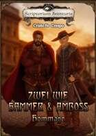 Zwei wie Hammer und Amboss   - Hommage