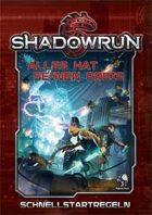 Shadowrun: Schnellstartregeln - Fünfte Edition