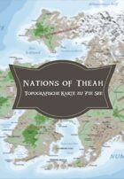 7te See Landkarte: Nations of Théah