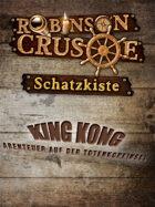 Robinson Crusoe Schatzkiste - King Kong Abenteuer auf der Totenkopfinsel
