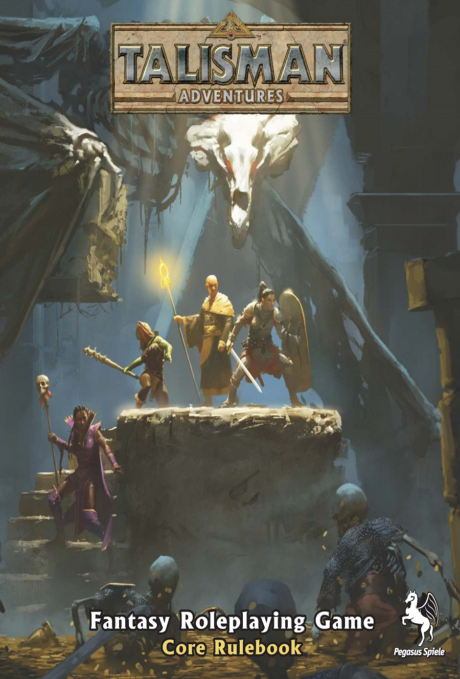Talisman Adventures Fantasy Roleplaying Game