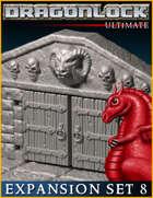 DRAGONLOCK Ultimate: Dungeon Expansion Set 8