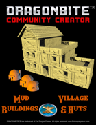Mud Village - Buildings and Huts