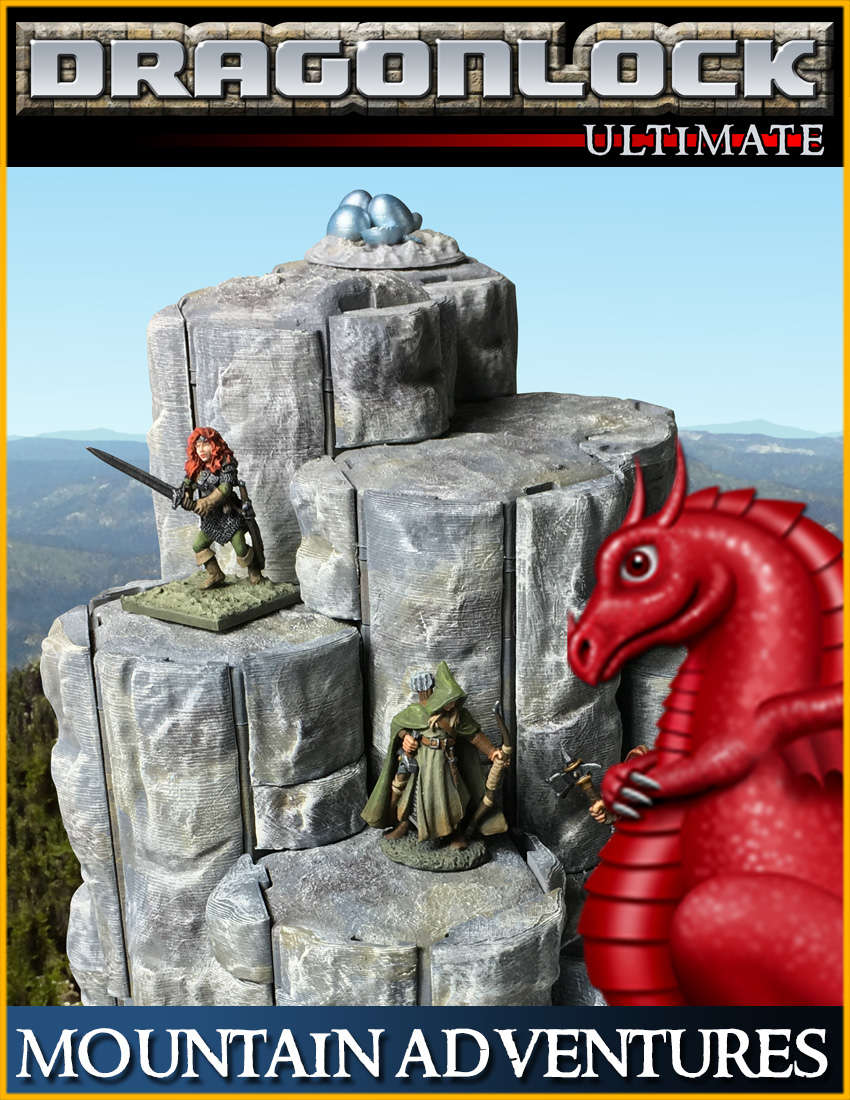 DRAGONLOCK Ultimate: Mountain Adventures