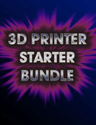 3D Printer Sample Pack [BUNDLE]