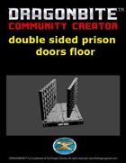 double edge prison door floor
