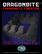 PAE Dice Tower Top