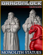 DRAGONLOCK Ultimate: Monolith Statues
