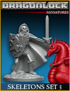 DRAGONLOCK Miniatures: Skeletons Set 3