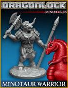 DRAGONLOCK Miniatures: Minotaur Warrior