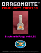 Blacksmith Forge with LED