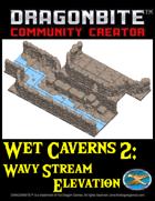 Wet Caverns 2: Wavy Stream Elevation