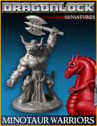 DRAGONLOCK Miniatures: Minotaur Warriors