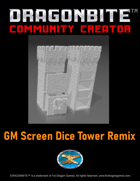 GM Screen Dice Tower Remix