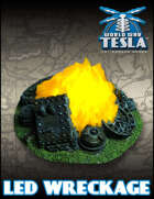 World War Tesla: LED Wreckage