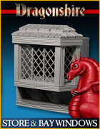 DRAGONLOCK: Dragonshire Store & Bay Windows